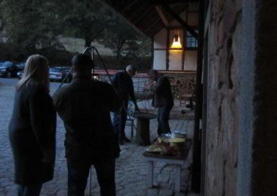 Abendstimmung im Erlenhof