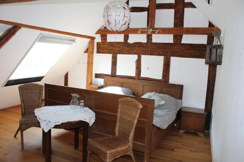 Alte Bauernbetten Doppelzimmer 2