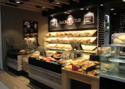 Bäckerei mit Cafeteria