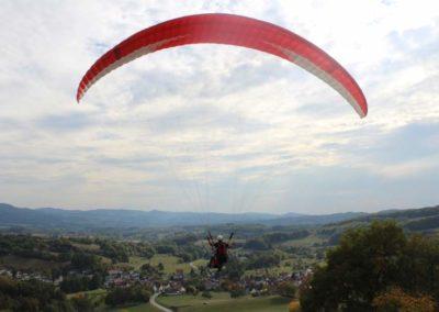 Flug in Lindenfels