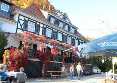 Hofgut Rodenstein in Herbstfarben