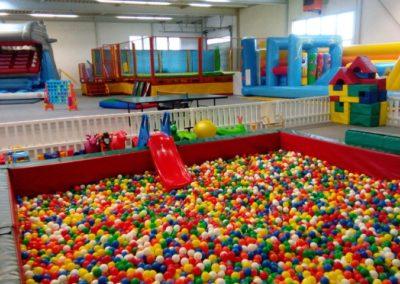 Indoorspielplatz Groß Bieberau Bällebad