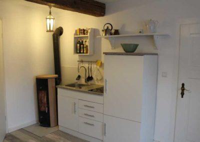Miniküche mit Ofen