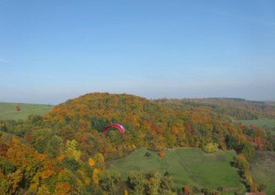 Odenwaldherbst aus der Luft