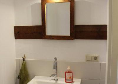 Scheunentoilette Damen Waschtich
