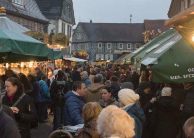Weihnachtsmarkt in der Darmstädter Straße